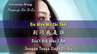 Download Mp3 Bie Wen Wo Shi Shei - 别问我是谁 - Lin Zi Lu - 林子路   Don't Ask Who I Am   Jangan