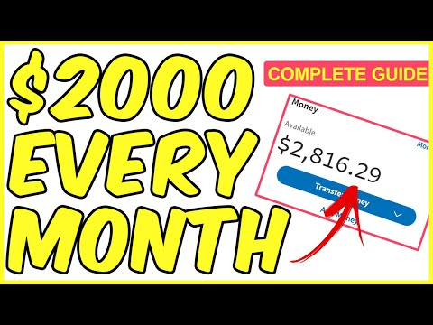 THE COMPLETE AFFILIATE MARKETING GUIDE ($2000/MONTH)