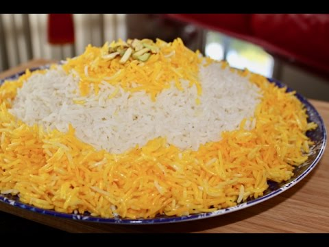 Afghani Saffron Rice How To Make Perfect Steamed Rice Afghani Challow Persian Rice Recipe Youtube