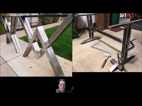 How to Make a Table Base -  Mig Welding