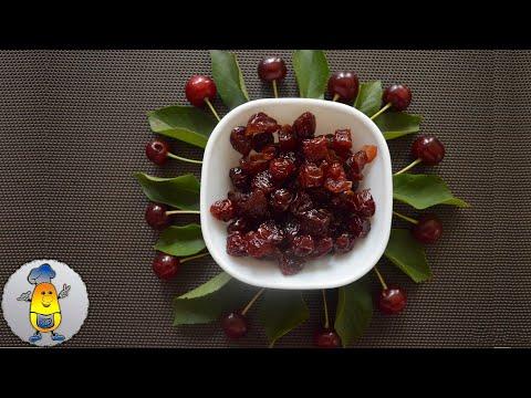 Вяленая вишня (цукаты из вишни) простой рецепт на зиму