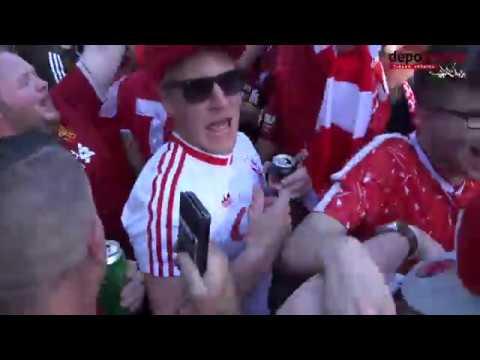 Фанати Ліверпуля заполонили Київ | неймовірна атмосфера фан-зони