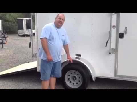 6x10 Pace America Cargo Trailer    Ramp Door    Trailer Depot Ladson SC