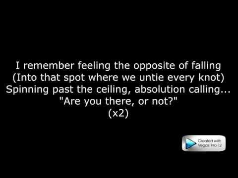 Incubus-Absolution calling lyrics