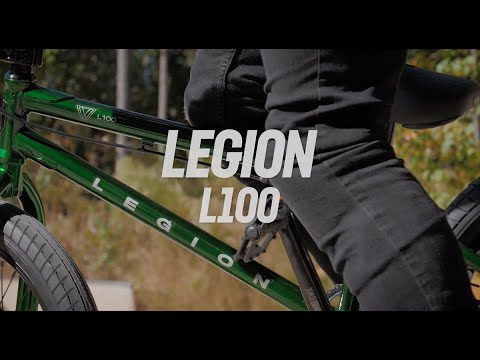 Mongoose 2021 Legion L100 Freestyle Bike - Green