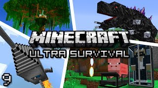 Minecraft: Ultra Modded Survival Ep. 9 - DINOSAUR TRAP!