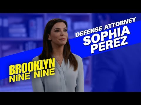 Defence Attorney Sophia Perez (Eva Longoria) | Brooklyn Nine-Nine