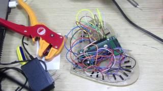 Hướng dẫn làm led trái tim ( Mạch led trái tim đã hàn trở cho led ) -  Heart LED circuit