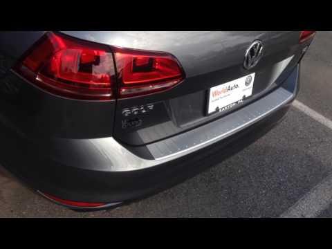 2015 VW Golf Sportwagen TDI for John