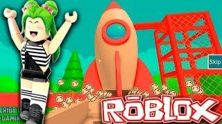 Roblox - VOU PARA ESPAÇO (escape the space obby )