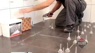 Как правильно положить плитку на пол(Величезний вибір плитки для підлоги дає простір для фантазії. Покриття виняткове, можна використовувати..., 2013-10-23T01:28:11.000Z)