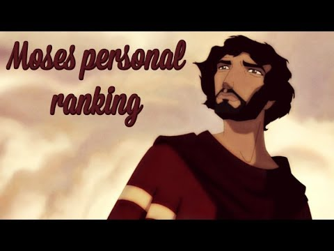 Moses personal ranking ||All 30 voices||