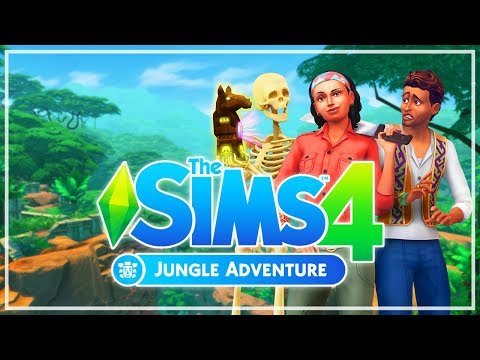 The Sims 4 | Jungle adventure | Trailer Reaction |
