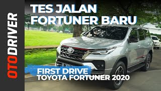Toyota Fortuner 2020 | First Drive | OtoDriver