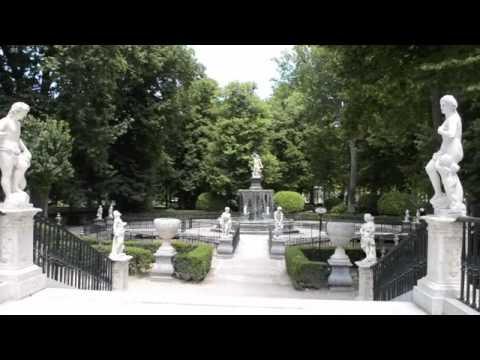 Los jardines del palacio de aranjuez madrid youtube for Los jardines del califa