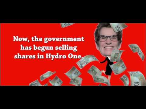 Hydro One Not For Sale Wynne