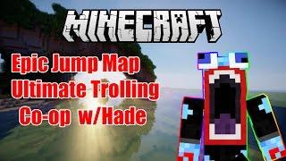 Minecraft Parkour #2 : MAP TROLL VÃI L*N W/Hades