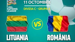 ⚽ Lituania - Romania ( Uefa Nations League )
