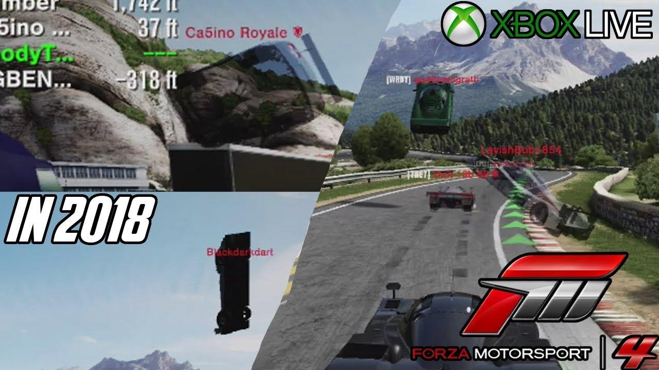 Forza Motorsport 4's online servers in 2018