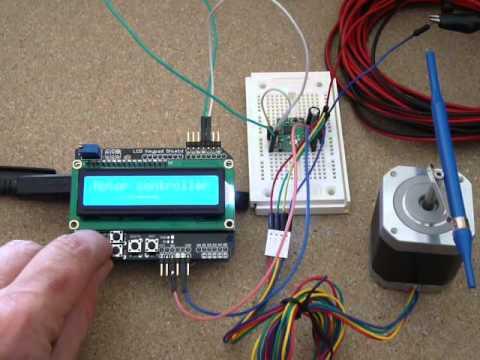 Pololu a4988 stepper driver and arduino youtube for A4988 stepper motor driver