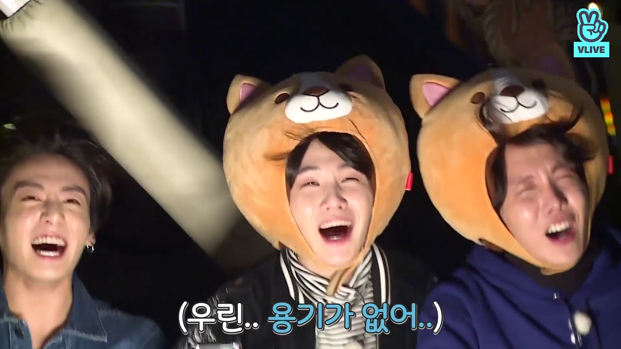 Scardey cat Suga and J-Hope PT2 - BTS RUN Episode 51