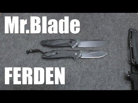 На обзоре нож Ferden от Mr.Blade. Это вам не Hemnes фикс...