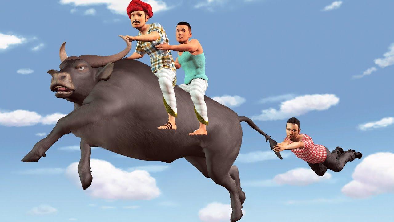 जादुई बैल चोर Magical Bull Thief Comedy Kahaniya - Hindi Kahaniya - Hindi Moral Stories Fairy Tales