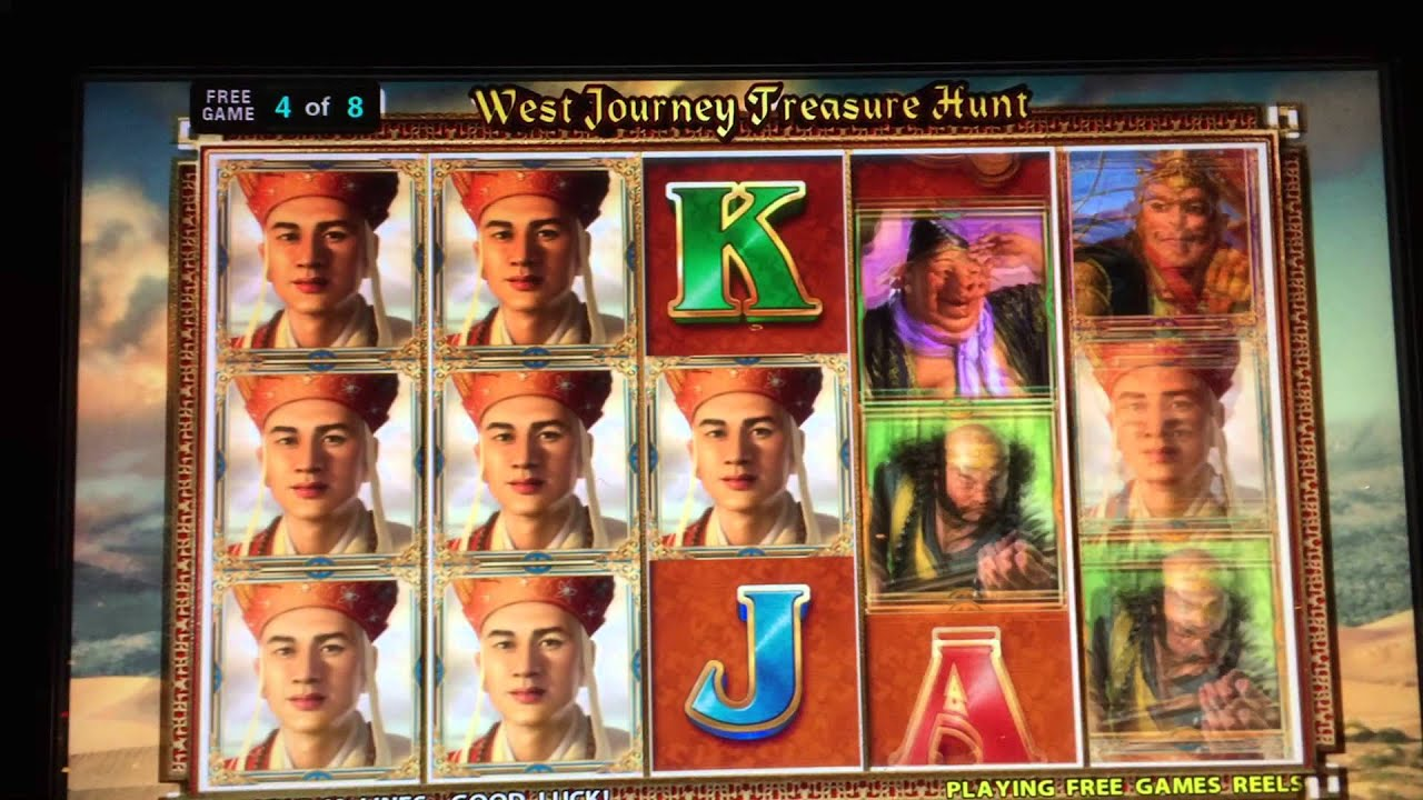 West Journey Slot Machine Game