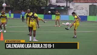 Calendario liga águila 2019-1