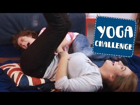 Yoga Challenge  Carlota Boza y Nano