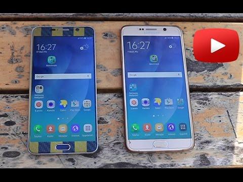 Samsung Galaxy Note 5 Android 6.0.1 - Android 5.1.1 Karşılaştırma