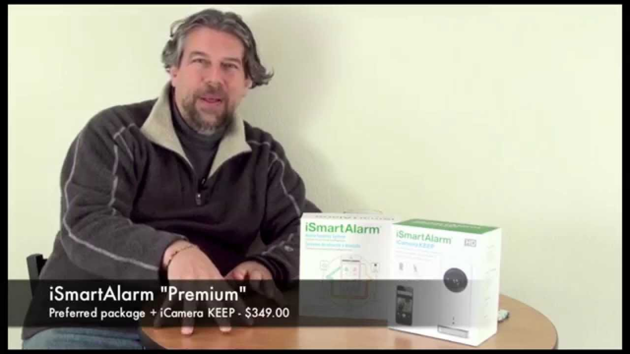 ismartalarm home security system demo review youtube. Black Bedroom Furniture Sets. Home Design Ideas