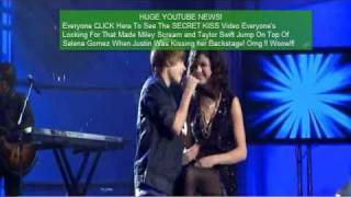 Justin Bieber Selena Gomez Kiss Round And Round Pray Music Video Never Say Never 3D