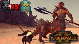 SHAGGOTH SMASH! Warriors of Chaos vs. Tomb Kings Multiplayer Battle | Total War: Warhammer 2