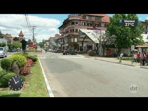 Conheça Nova Petrópolis, cidade que encanta turistas durante todo o ano | SBT Notícias (06/11/17)