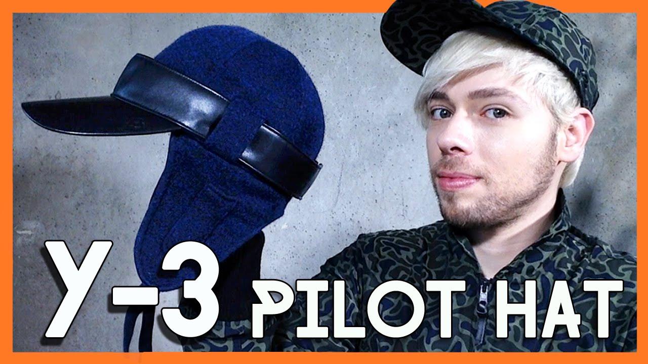 149bf6eab1e Y-3 YAMAMOTO Pilot Hat review fw15 - YouTube