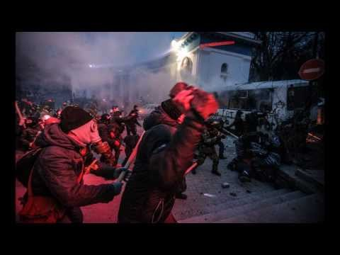 Massive Protest in UKRAINE (Ukrainian Revolution, 2014)_I