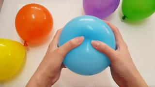 LEARN COLORS with Balloons - Finger Family for Kids Babies Songs 1