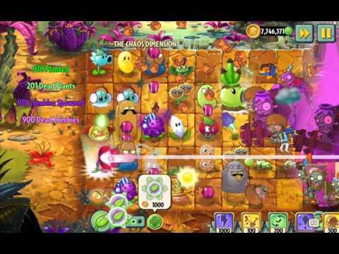 Plants vs Zombies 2 Epic Hack : The Chaos Dimension Part 1