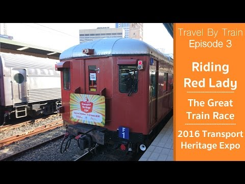Travel By Train #3 - Full Great Train Race - Transport Heritage Expo  2016