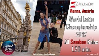 All Samba Solos Music from World Latin Championship 2017 / 6 Solos 1.20 min/