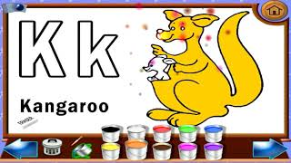 The ABC Song Educational Game   Kids Learn English ABC & Colors