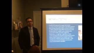 Dr. Michael Luciano Medical Weight Loss Seminar - Metabolic Testing
