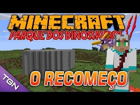 Minecraft Parque dos Dinossauros II :: Ep 1 :: O RECOMEÇO