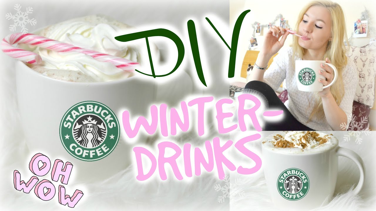 DIY STARBUCKS WINTERDRINKS in 3 Minuten - Günstig, Einfach ...