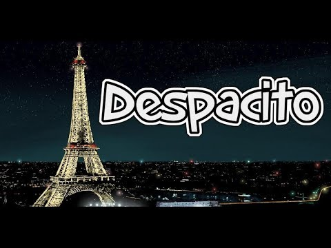 Despacito violin cover - Trocadero,Eiffel Tower,Paris,France