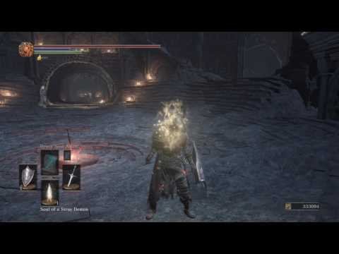 Dark Souls 3 boss soul duplication glitch **version 1.00 only**