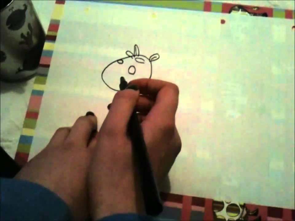 hvordan tegner man en ko