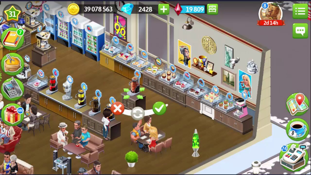 My Cafe: Recipes & Stories # 254 Reached Level 31 & Install Maple Syrup