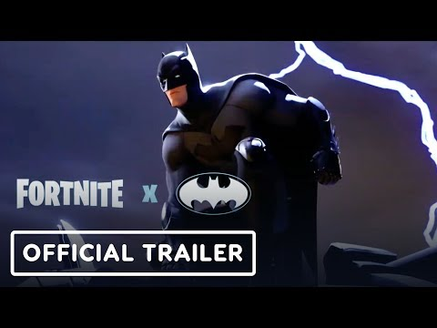 Fortnite x Batman - Official Trailer